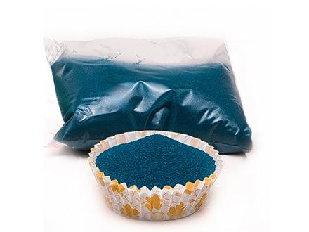 Песок №5 синий, 100 г