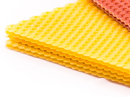 Вощина желтая Размер: 270х410 мм