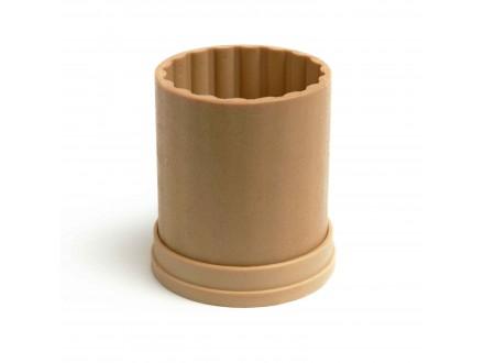 Рифленая №1 форма для свечей