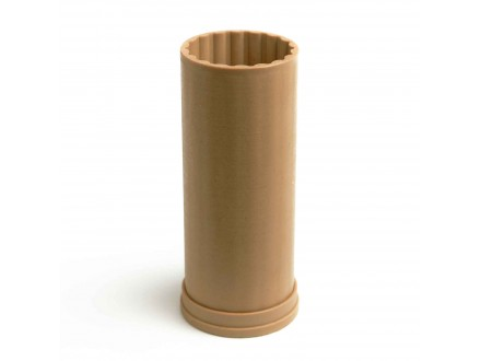 Рифленая №2 форма для свечей