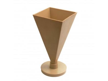 Пирамида №3 форма для свечей