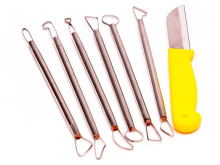 Набор ножей для резных свечей