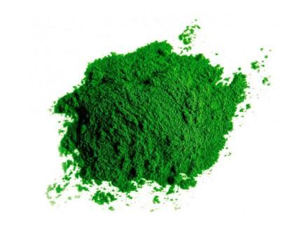 Краситель для геля зеленый