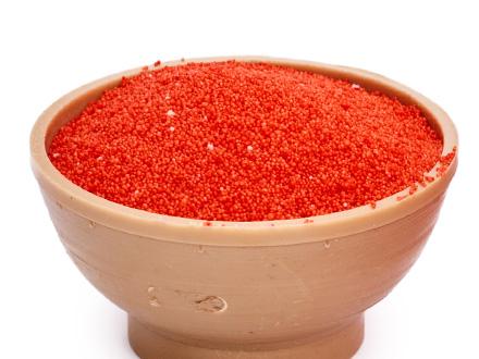 Насыпной песок красный