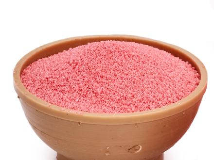 Насыпной песок розовый