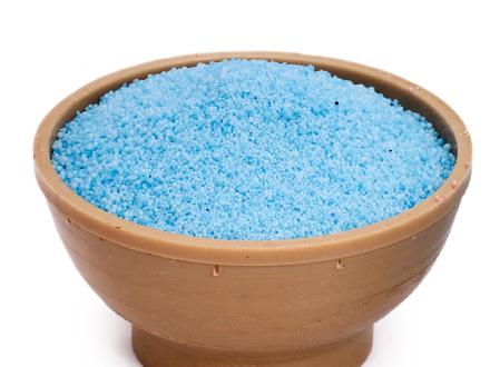 Насыпной песок синий