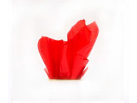 Тишью №3, красный