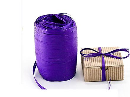 Веревка рафия фиолетовая