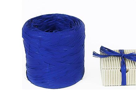 Веревка рафия синяя